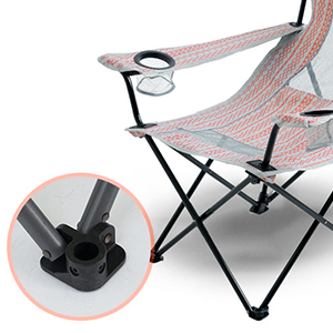 sling beach camping chair collapsible compact high beach chair for travel stargazing chair