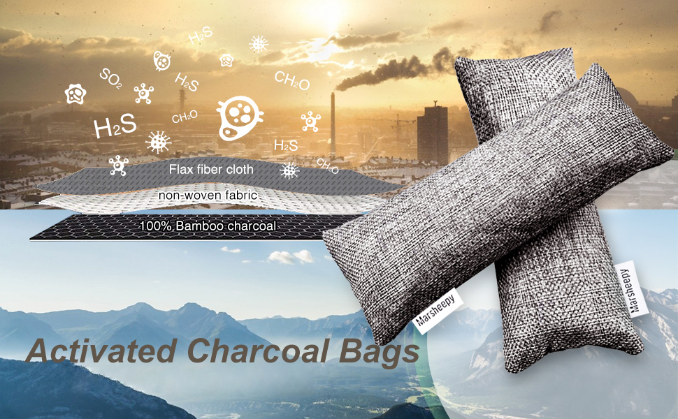 charcoal bags