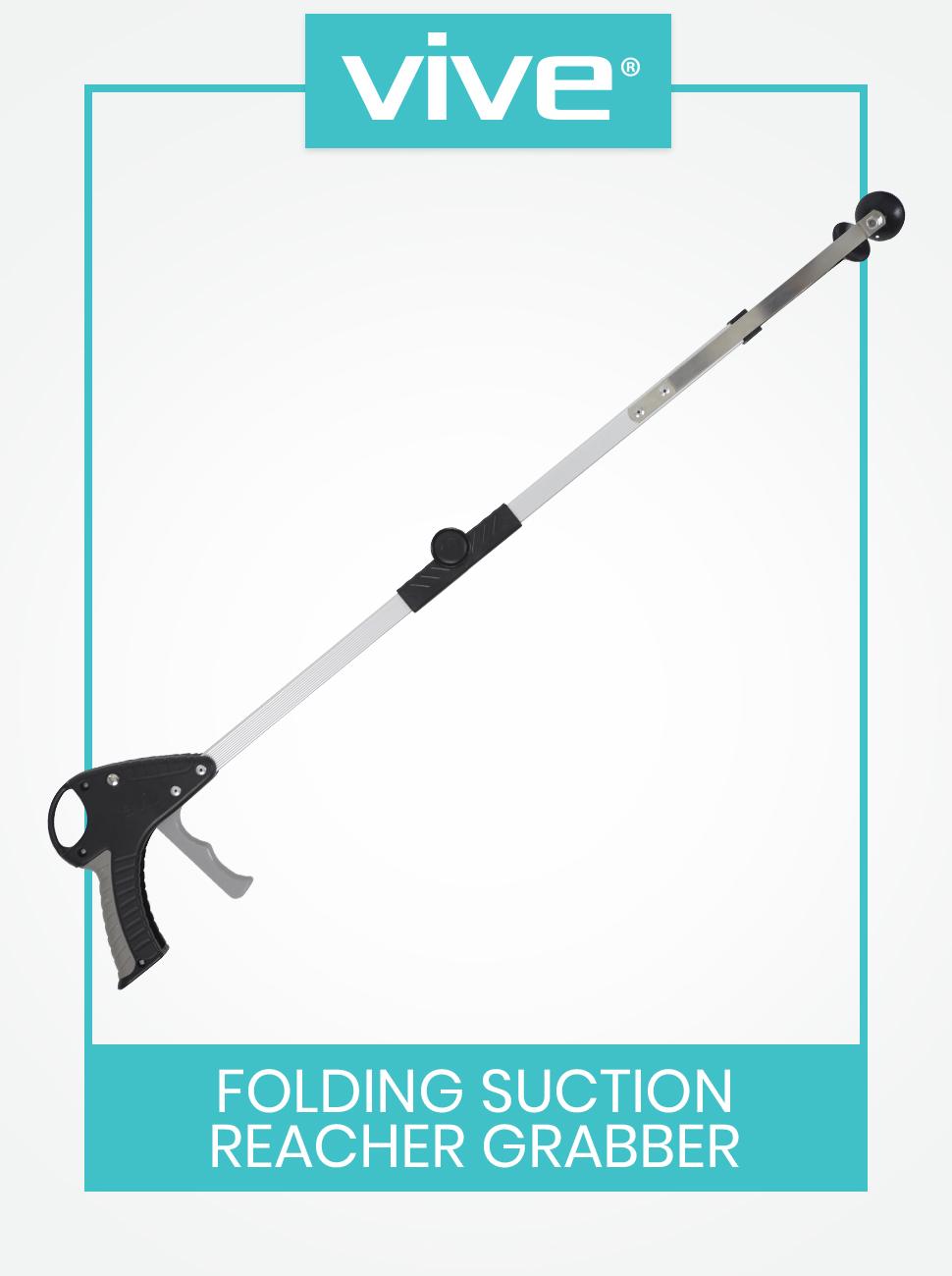 vive folding suction reacher grabber