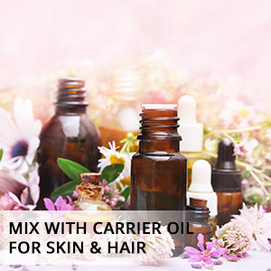 Clove oil with carrier oil gives a glowing skin and beautiful hair