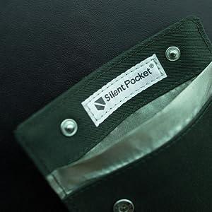 leather phone case best travel security block gps rfid wallet case phone holder