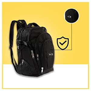 Casual Unisex Laptop Backpack Fit 15.6 inch 17 Inch Laptops Travel Hiking Fashion Business SPN FOR 1
