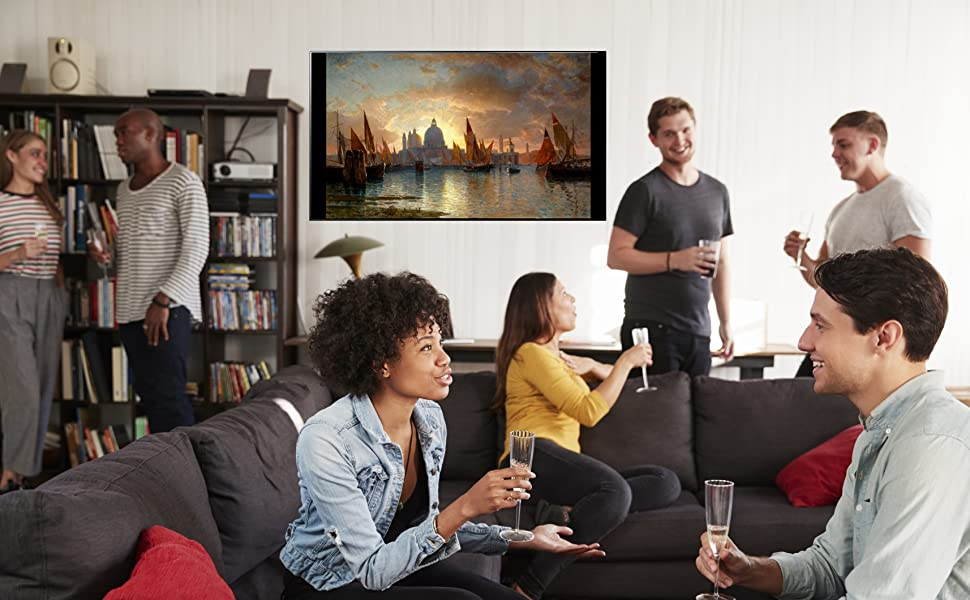 Tv Wall Art on wall Billion Dollar Art Gallery