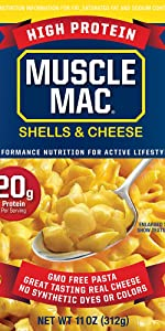 Deluxe Shells amp; Cheese Macaroni Cheese High Plant Protein Probiotics Non-GMO Pasta Mac amp; Cheese Shel