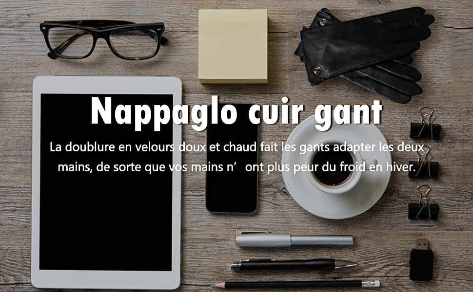 NAPPAGLO CUIR GANTS -