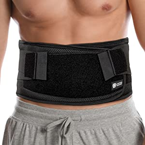 copper compression back brace belt support