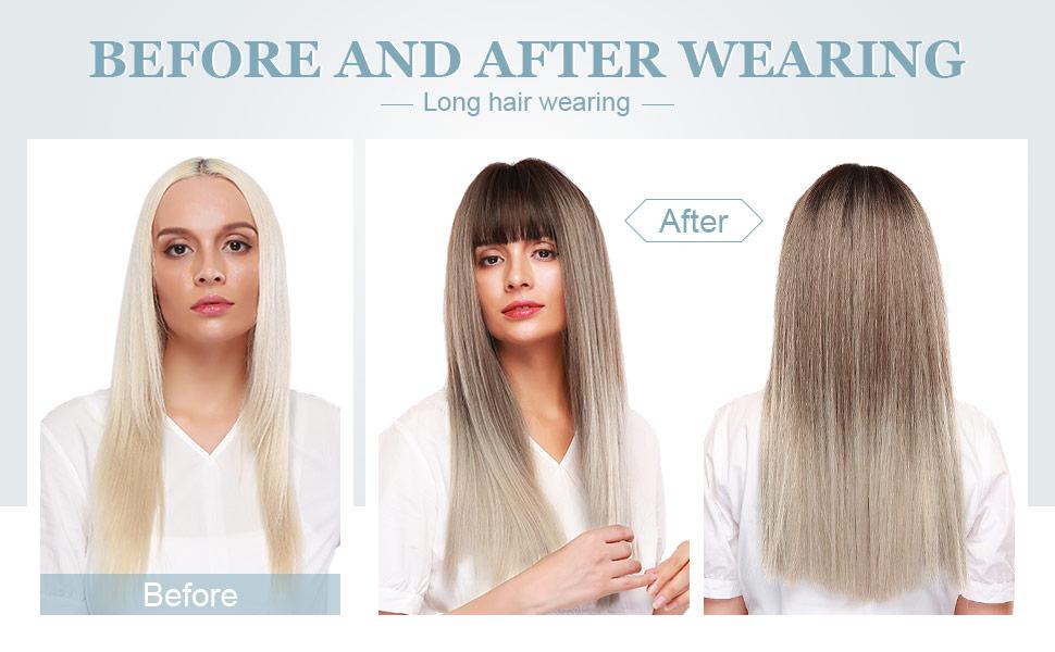 blonde wig for white women