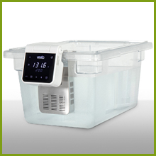 white Imersa Elite attached to clear water container