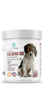 Calming Treats for Dogs, tasty chicken and turkey flavor