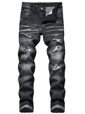 Ripped Jeans for Mens Jeans Slim fit Mens Pants Jeans Men Jeans Ripped Jeans Black Jeans for Men