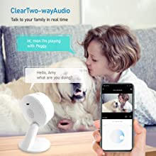 Wireless Home Security Camera HD 1080P (2 Pack),Home Security System with AI Human Detection