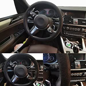 thin steering wheel cover