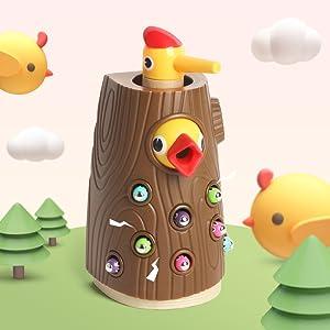 juego educativo magnetico juguete niños 2 3 4 años