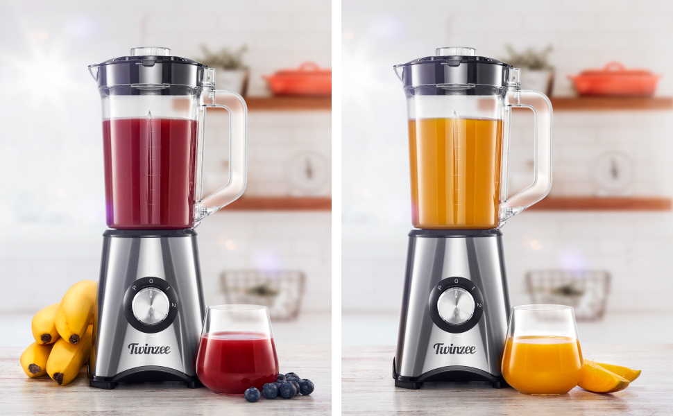 Batidora, Blender Smoothie, 700W Batidora Multifuncion para ...