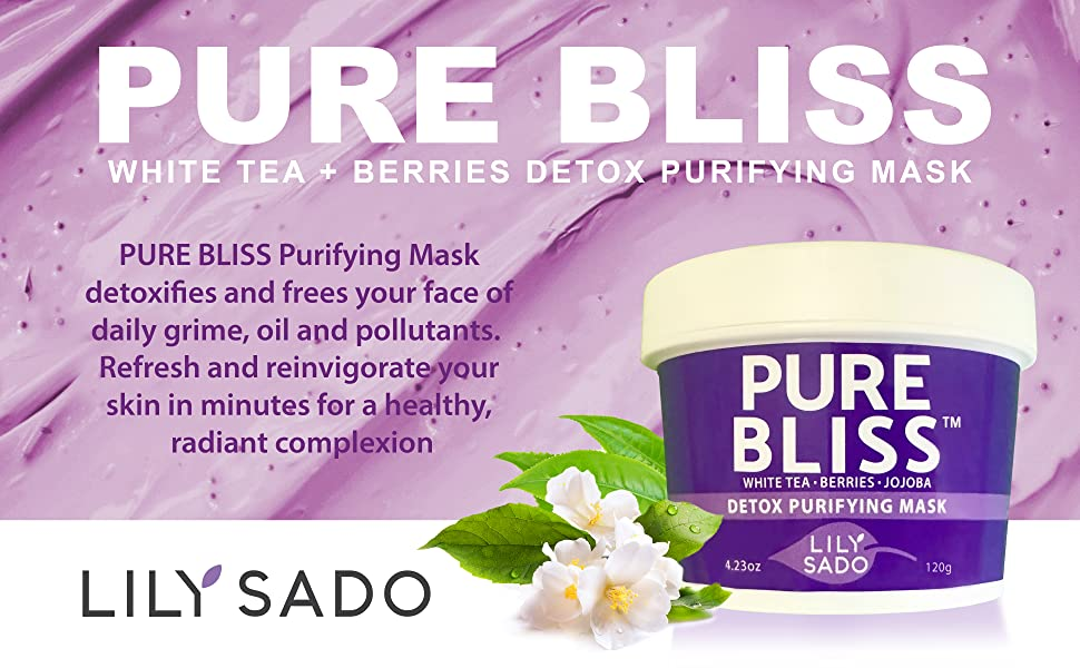 pure bliss white tea and berries mask 1