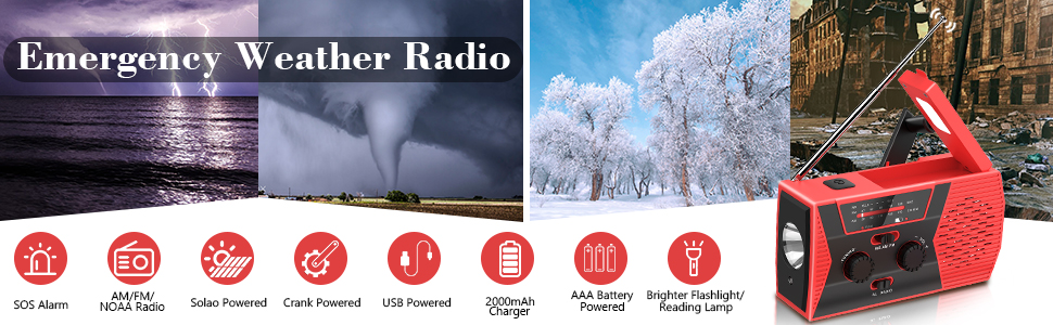 Weather Radio for Outdoor