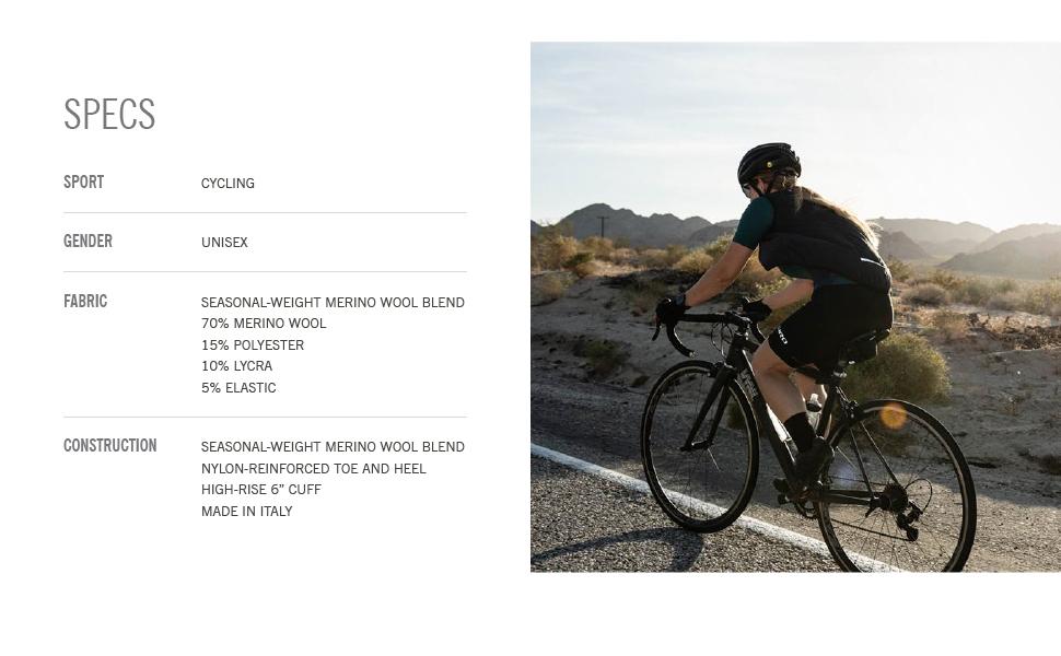 giro giro seasonal merino wool bike cycling socks details