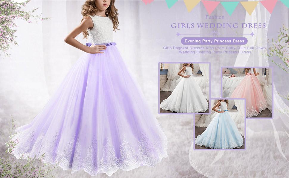 Flower Girls Wedding Dress First Communion Dresses
