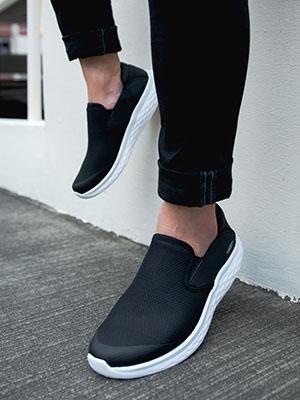 mbt modena walking, womens modena walking shoe, slip-on shoes, rocker bottom shoes, mbt shoes