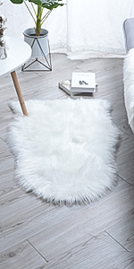 faux sheepskin rug