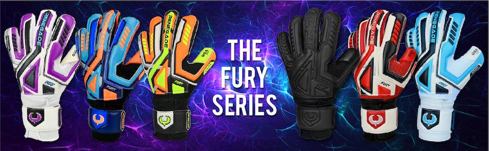 Renegade GK Fury Series of Professional Goalie Gloves