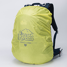 Integrated rain cover in the zipped pocket to provide long-lasting durability against activities