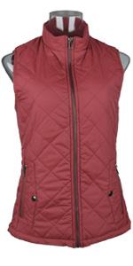 Red Women Vest