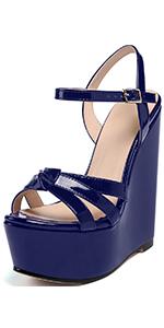navy blue wedge sandals for women,blue sandals for womenwomen's blue sandalsblue dress sandals women