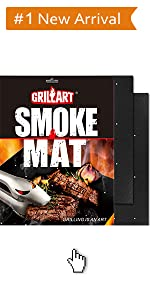 Grill mats for outdoor grill
