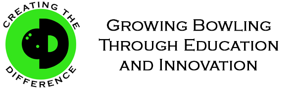 Creating the Difference Logo Slogan Growing Bowling Through Education and Innovation