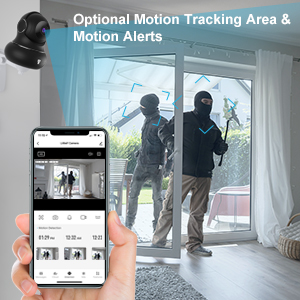 7  [Updated Version] Indoor Home Security Camera, Littlelf 1080p 2.4G WiFi Camera with Smart Motion Tracking Detection, 2-Way Audio, Night Vision and Cloud Service, Compatible with Alexa (Black) 79c78b2b 0662 4f6e a1af e344cd37b77c