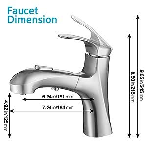 Faucet Dimension