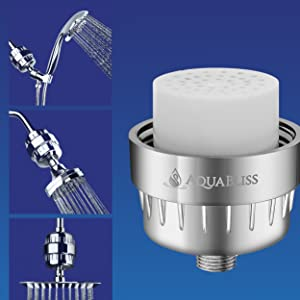 COmpatible with all shower head types, including fixed showers, rain showers and handheld showers