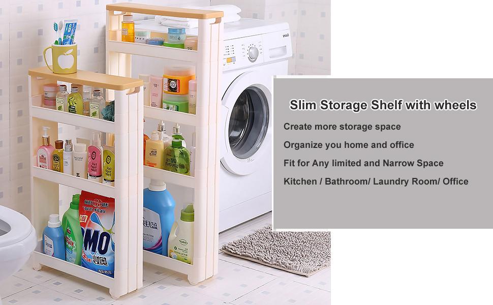 Slim storage tower