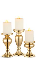 golg candlesticks