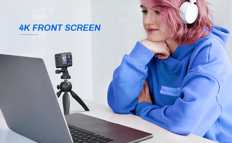 action camera dual screen 4K GOPRO