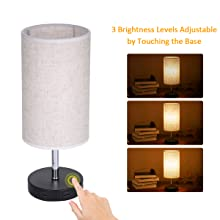 bedside lamp dimmable