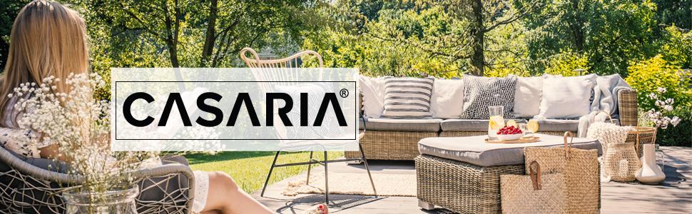 Casaria Chaise Longue Zircone Pliable Anthracite Plastique PVC Dossier réglable 5 Positions 2 Roues Bain de Soleil Jardin terrasse extérieur