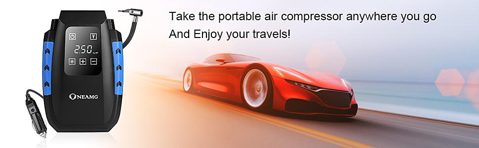 compresor aire coche