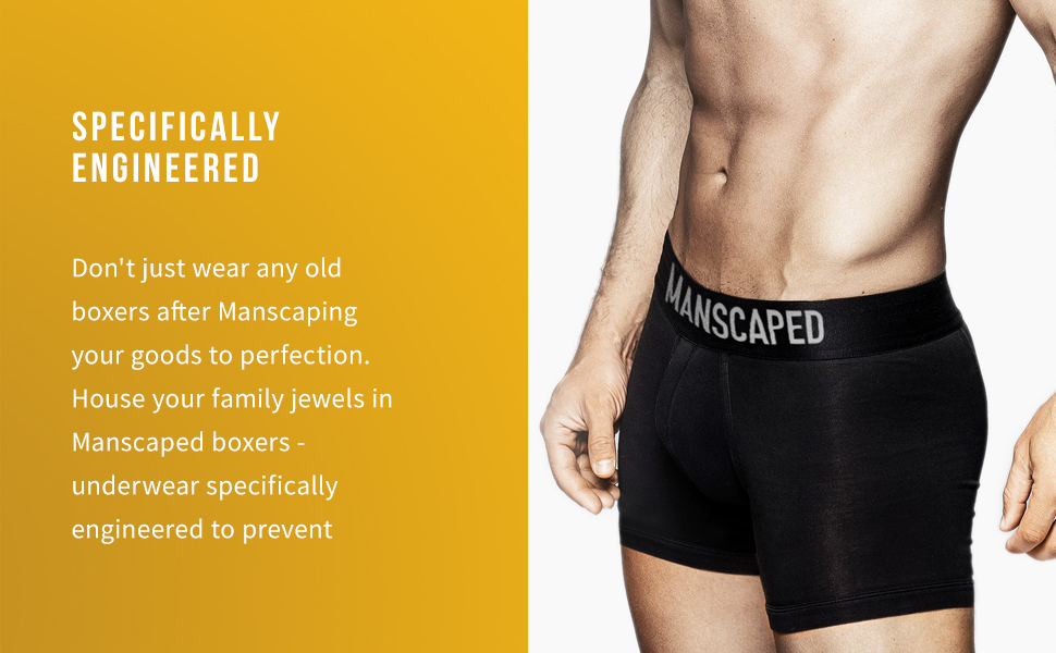 specifically engineered boxers
