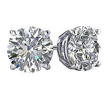 cubic zirconia, stud earrings for women