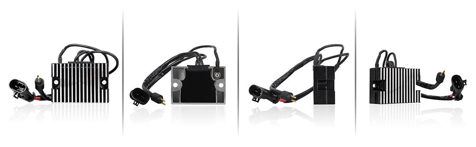 LKV 74523-04 Voltage Regulator Rectifiers Replacement for Harley Davidson/Sportster 883 1200 2004-2006