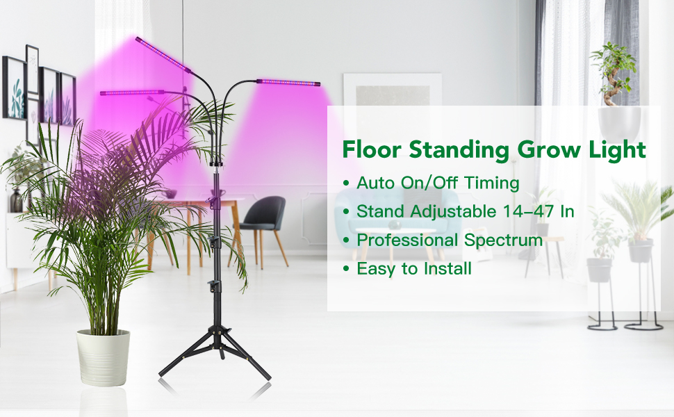 indoor plant grow lamp