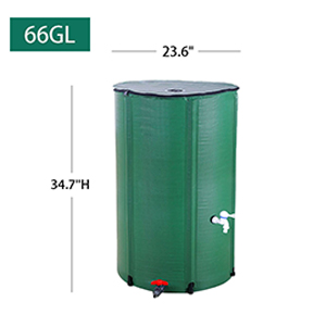 66 gallon water collection