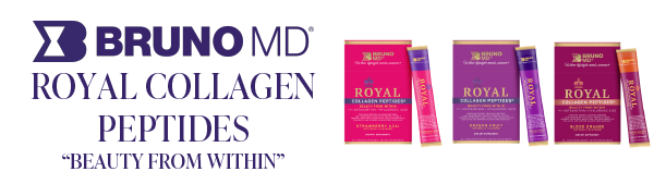 BRUNO MD ROYAL COLLAGEN PEPTIDES BEAUTY FROM WITHIN