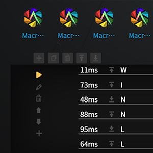 60% mechanical keyboard 61 keys TKL tenkeyless MACRO command record offline