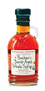 Stonewall Kitchen Organic Bourbon Barrel-Aged Maple Syrup