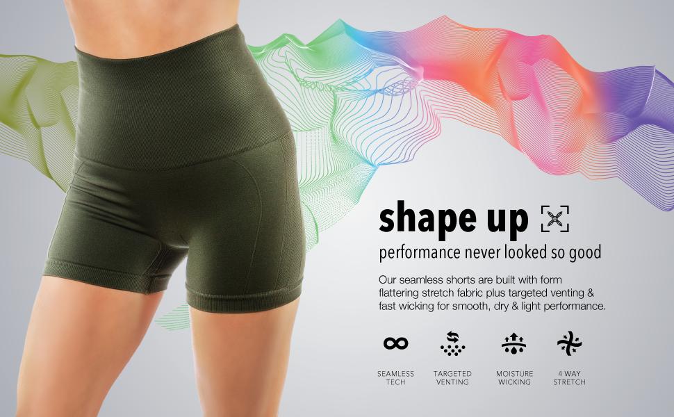 tummy control shorts homma shorts seamless compression yoga shorts  biker shorts  workout shorts