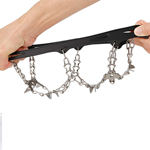 shoe spikes for snow and ice