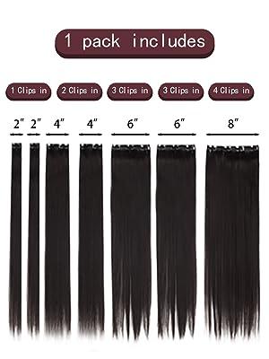 7 pcs set hairpieces1